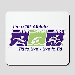 TRI-Athlete Mousepad