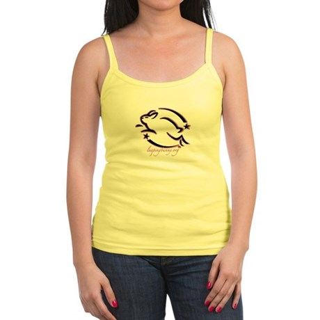 Leaping Bunny Outline (Jr. Spaghetti Tank)