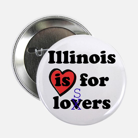 Illinois Is For Losers Button