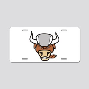 Bull Market Golf Aluminum License Plate