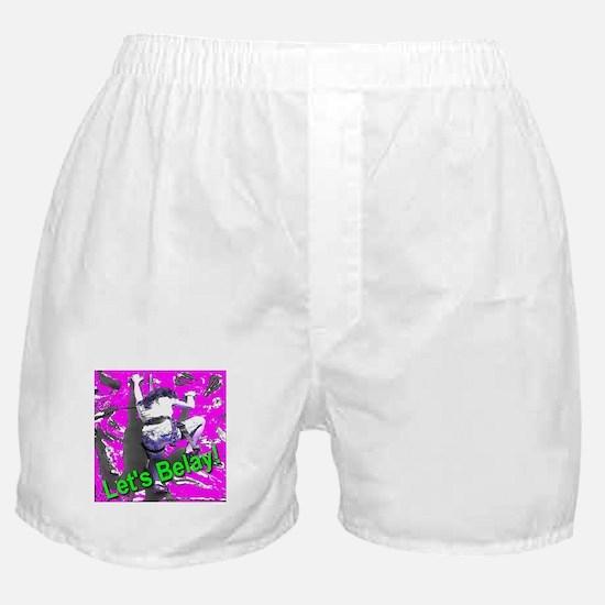 Let's Belay! Boxer Shorts