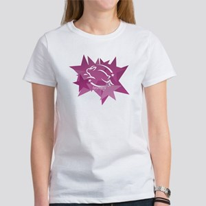 Leaping Bunny Stars (Women's T-Shirt)