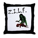 Zombie I'd Like To Fuck Throw Pillow