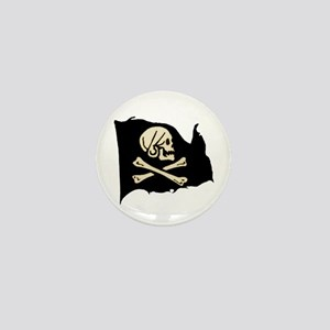 Henry Avery Pirate Flag Mini Button