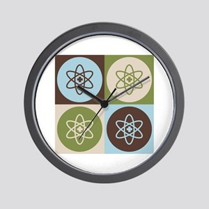 Nuclear Medicine Pop Art Wall Clock
