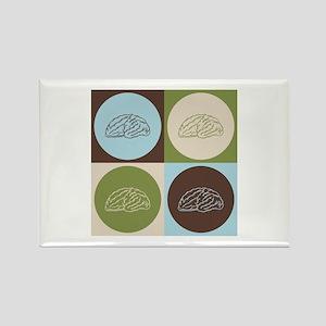 Neuroscience Pop Art Rectangle Magnet