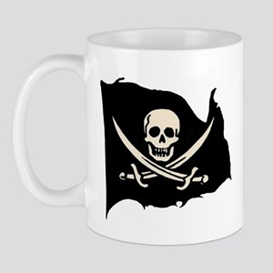 Calico Jack Pirate Flag Mug