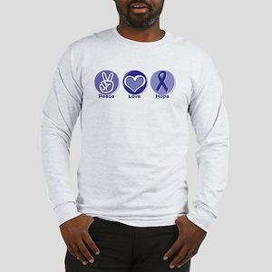 Peace Love Pur Hope Long Sleeve T-Shirt