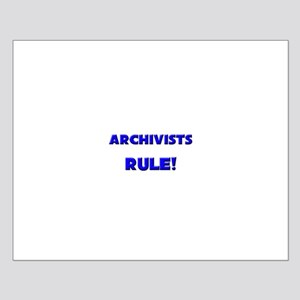 Archivists Rule! Small Poster