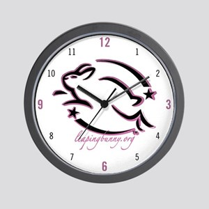 Leaping Bunny (Wall Clock)