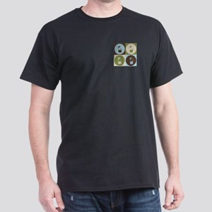 Microbiology Pop Art Dark T-Shirt
