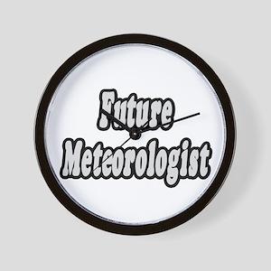 """Future Meteorologist"" Wall Clock"