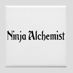 Ninja Alchemist Tile Coaster