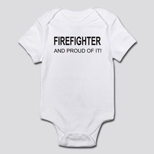 The Proud Firefighter Infant Bodysuit