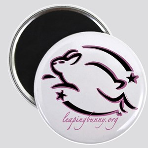 Leaping Bunny Outline (Magnet)