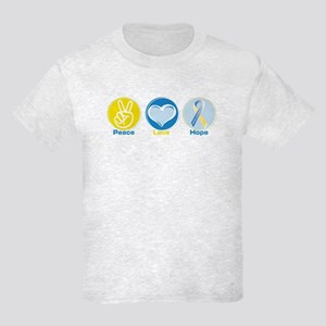 Peace Love DS hope Kids Light T-Shirt