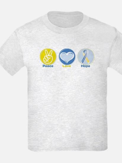 Peace Love Down syn hope T-Shirt