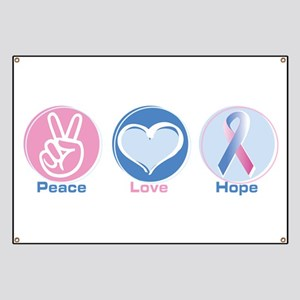 Peace Love BlPk Hope Banner