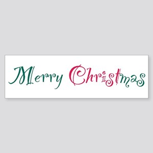 Merry Christmas par Sticker (Bumper)