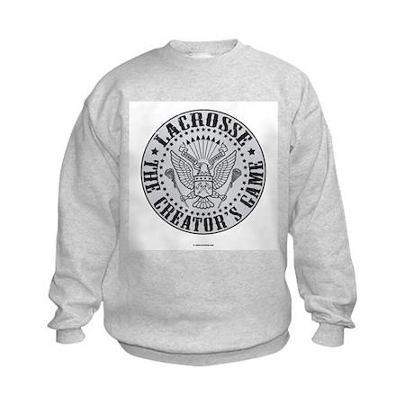 Lacrosse-The Creator's Game-E Kids Sweatshirt