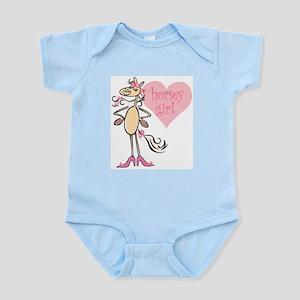 Horsey Girl Infant Bodysuit