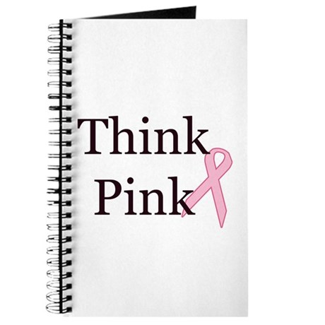Think Pink Breast Cancer Awareness Journal