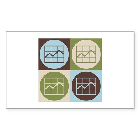 MBAing Pop Art Rectangle Sticker