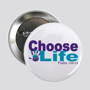 "Life Psalm 139:13 2.25"" Button"