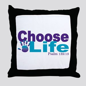 Life Psalm 139:13 Throw Pillow