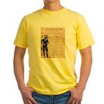 Jesse James Yellow T-Shirt
