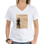 Jesse James Women's V-Neck T-Shirt