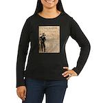 Jesse James Women's Long Sleeve Dark T-Shirt