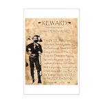 Jesse James Mini Poster Print