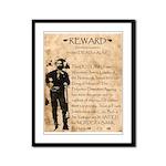 Jesse James Framed Panel Print