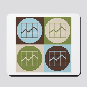 Market Research Pop Art Mousepad