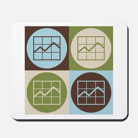 Market Research Pop Art Mousepad