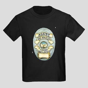 L.A. School Police Kids Dark T-Shirt