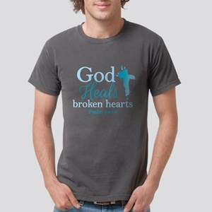 Psalm 34:18 Mens Comfort Colors® Shirt