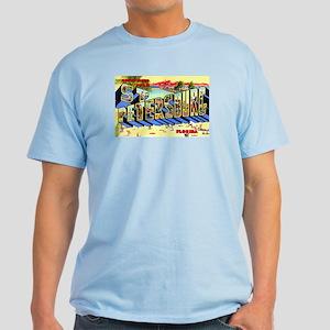 St Petersburg Florida Greetings Light T-Shirt