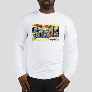 St Petersburg Florida Greetings Long Sleeve T-Shir