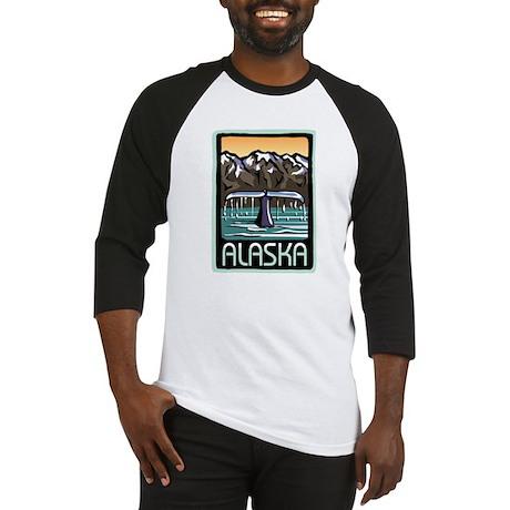 Alaska Whale Baseball Jersey