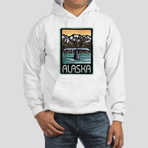 Alaska Whale Hooded Sweatshirt