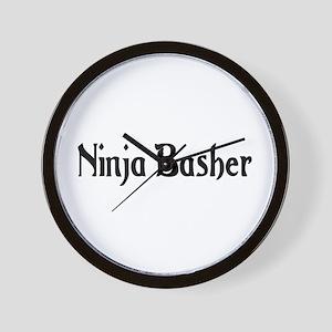 Ninja Basher Wall Clock