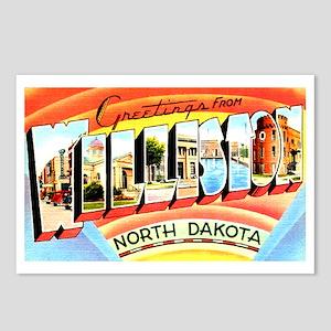 Williston North Dakota Greetings Postcards (Packag