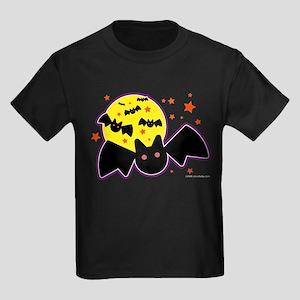 Halloween Bats Kids Dark T-Shirt