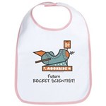 Future Rocket Scientist Bib