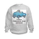 Future Formula One Driver Kids Sweatshirt
