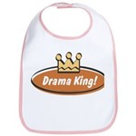Vintage Drama King (Boys) Bib