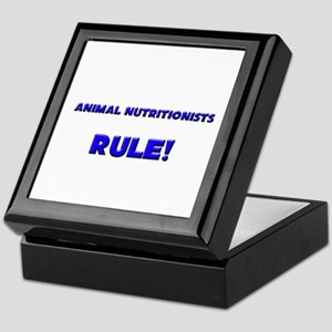 Animal Nutritionists Rule! Keepsake Box