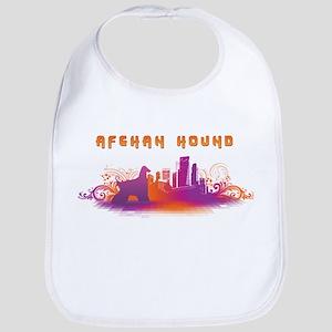 """""""City"""" Afghan Hound Bib"""